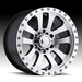 17 Inch Ram Eagle 063 Machined Finish Wheels