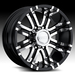 17 Inch Ram Eagle 197 Black Wheels