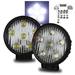 """18W LED 4.5"""" Off Road Fog Lights w/ Switch"""