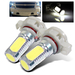 2 x 5202 6W SMD Light Bulbs for Fog Lights - White