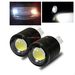 2 x 920/921/T15 9W SMD Light Bulbs for Rear Back Up Lights - White