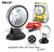 2 x Pilot Round Universal Fog Lights Kit with Magnetic Base
