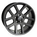 22 Inch SRT OEM Style Gunmetal Wheels