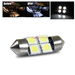 31mm 4 SMD Interior Dome Light - White