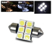 31mm 6 SMD Interior Dome Light - White