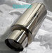 "4"" Fireball Muffler Exhaust Chrome"
