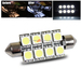 42mm 8 SMD Interior Dome Light - White