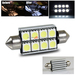 42mm 8 SMD w/ Canbus Interior Dome Light - White
