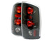 Dodge Ram 02-05 Euro Tail Lights - Jdm Black