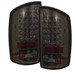Dodge Ram 02-05 Led Euro Tail Lights - Smoke