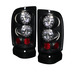 Dodge Ram 94-01 Led Tail Lights - Black