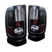 Dodge Ram 94-01 Led Tail Lights - Jdm Black