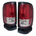 Dodge Ram 94-01 Led Tail Lights - Red & Clear