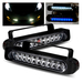 LED Daytime Driving Fog Lights With Blue / White LED - R8 Style