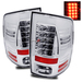 Ram 1500 2009-2010 LED Tail Lights - Chrome