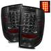 Ram 1500 2009-2010 LED Tail Lights - Smoke