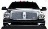 Ram 1500/2500/3500 2006-2008 RBP RX Series Mesh Sport Grille - Chrome
