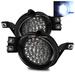 Ram 2002-2008 Hi-Power 32 LED Fog Lights - Chrome