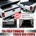 Ram 2500 2009-2010 Quad Cab Tri-Fold Tonneau Cover - 6.5 Feet