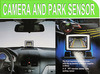 Rear View LCD Camera and Park Sensor System