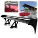 Universal Aluminum GT Spoiler Wing - Black Type III Style