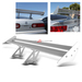 Universal Aluminum GT Spoiler Wing - Silver Type I Style