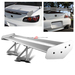 Universal Aluminum GT Spoiler Wing - Silver Type V Style