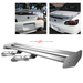 Universal Aluminum GT Spoiler Wing - Silver Type X Style