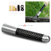 Universal Fit Screw Type Aluminum Antenna Carbon Fiber