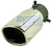2.25 Inch Exhaust Tip Universal Square