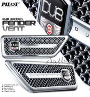 2PC DUB Edition Mesh Fender Vent