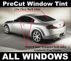 Pre-Cut Window Tint Kit