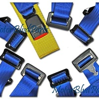4Point Racing Seat Belt Shoulder Restraint Harness Blue