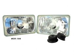 4x6 Inch Upgrade Headlights Euro H4651 H4652 H4656 H4666