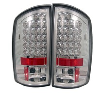 Dodge Ram 02-05 Led Tail Lights - Chrome