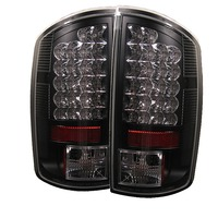 Dodge Ram 02-05 Led Tail Lights - Jdm Black
