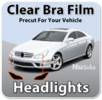 Headlights Clear Bra Protection