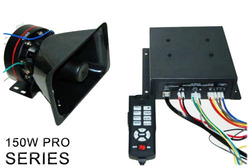 Pro 150W Police Siren and Speaker
