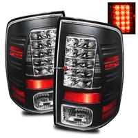 Ram 1500 2009-2010 LED Tail Lights - Black