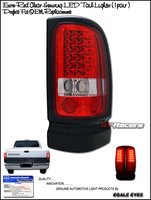 Ram 1994-2001 Euro LED Tail Lights Red