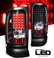 Ram 1994-2001 LED Tail Lights - Black