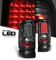 Ram 1994-2001 LED Tail Lights - Smoke