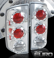Ram 2002-2005 Altezza Tail Lights White