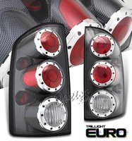 Ram 2002-2005 Carbon Fiber Style Altezza Tail Lights Black