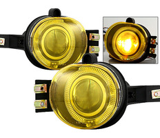 Ram 2002-2005 Halo Projector Fog Lights Yellow