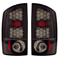 Ram 2002-2006 Euro LED Tail Lights Black