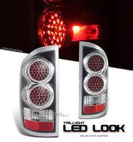 Ram 2002-2006 LED Look Tail Lights Black