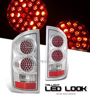 Ram 2002-2006 LED Look Tail Lights White