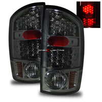 Ram 2002-2006 LED Tail Lights - Smoke