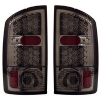 Ram 2002-2006 LED Tail Lights Smoked